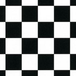 Damalı | siyah beyaz pvc
